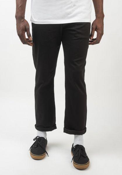 Reell Chinos und Stoffhosen Regular Flex Chino black vorderansicht 0204132