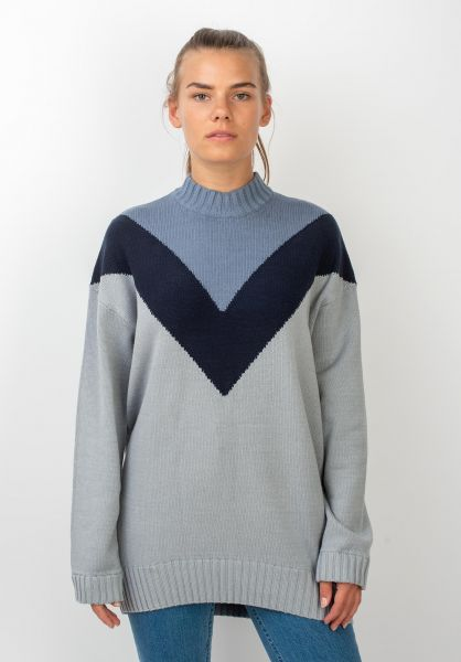 Element Strickpullover Rising Sun quarry vorderansicht 0144059