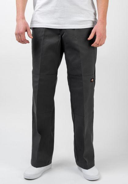 Dickies Chinos und Stoffhosen Double Knee Work Pant charcoalgrey vorderansicht 0204120