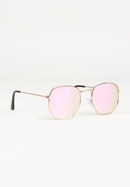 CHPO Sonnenbrillen Ian gold-pinkmirror vorderansicht 0590627
