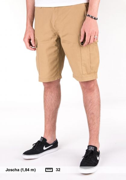 Element Shorts Legion Cargo II canyonkhaki Vorderansicht