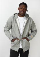 carhartt-wip-zip-hoodies-hooded-chase-jacket-greyheather-gold-vorderansicht-0453004