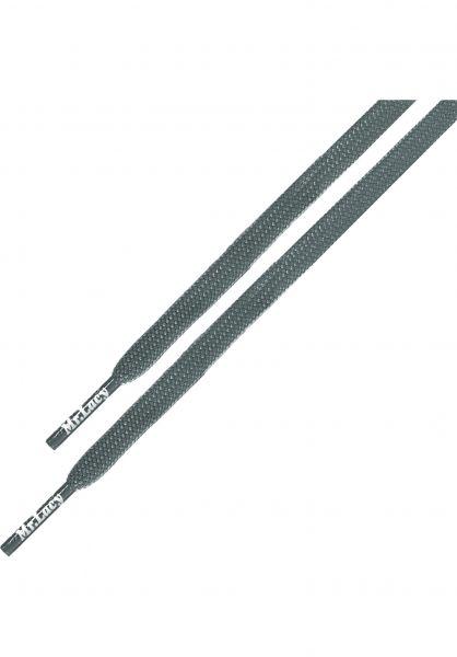 Mr. Lacy Schnürsenkel Runnies Flat grey vorderansicht 0640031