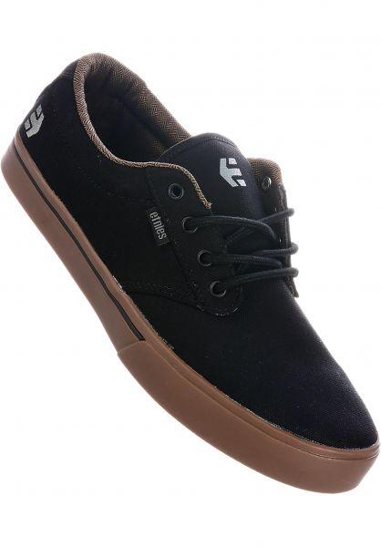etnies Alle Schuhe Jameson 2 Eco black-charcoal-gum vorderansicht 0602360