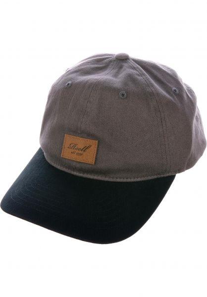 Reell Caps Tone Cap darkcharcoal-black vorderansicht 0566181