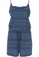 Ragwear Jumpsuits Bara Organic blue Vorderansicht