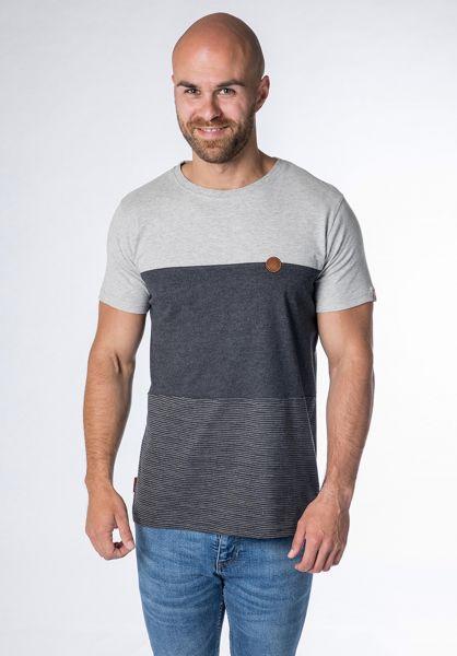 alife and kickin T-Shirts Ben B moonless-stripes vorderansicht 0320763