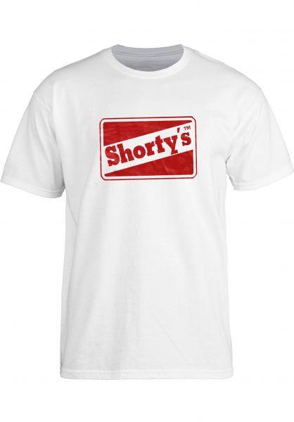 Shortys T-Shirts OG Logo white vorderansicht 0396547
