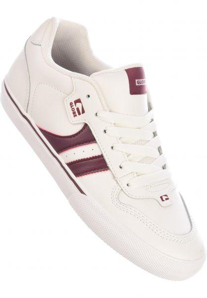 Globe Alle Schuhe Encore 2 blanc-bruise vorderansicht 0601275
