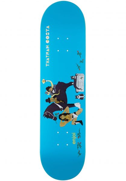 Enjoi Skateboard Decks Thaynan Over Board IL lightblue vorderansicht 0265868