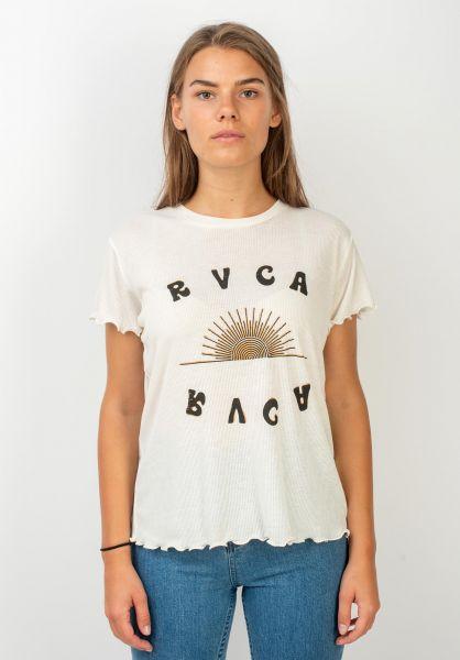 RVCA T-Shirts Sunshien antiquewhite vorderansicht 0320005