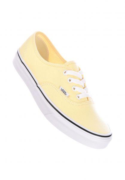 Vans Alle Schuhe Authentic Classic vanillacustard-truewhite vorderansicht 0611322