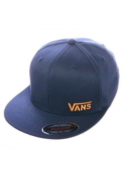 Vans Caps Splitz dressblues-saffron vorderansicht 0561128