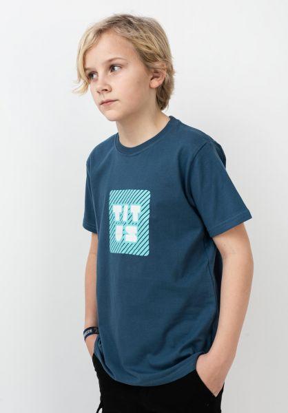 TITUS T-Shirts Typo Kids stellar vorderansicht 0320204