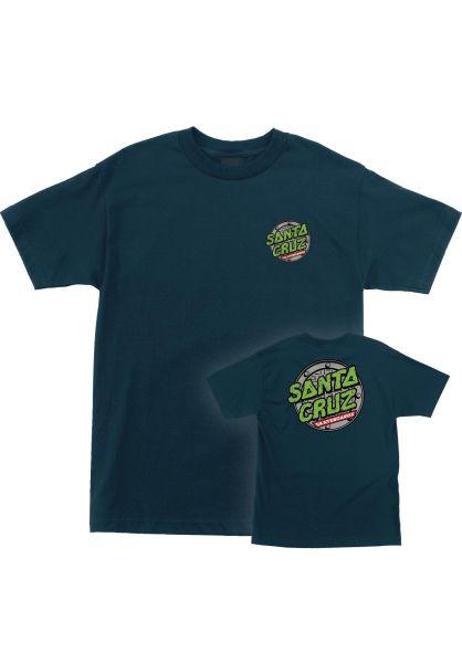 Santa-Cruz T-Shirts TMNT Sewer Dot S/S blue vorderansicht 0398765