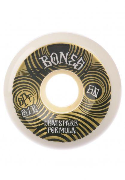 Bones Wheels Rollen SPF Ripples 81B P5 white vorderansicht 0135060
