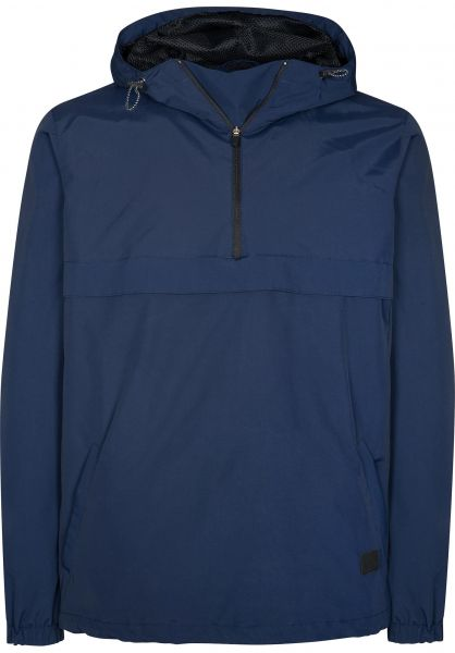 Reell Windbreaker Hooded Windbreaker navy Vorderansicht