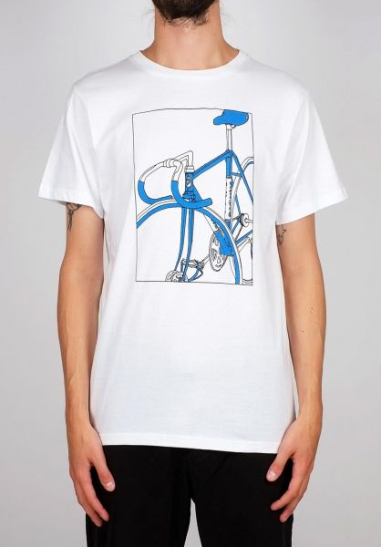 Dedicated T-Shirts Stockholm Bike Box white vorderansicht 0399369