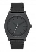Nixon Uhren The Time Teller allblack-slate Vorderansicht