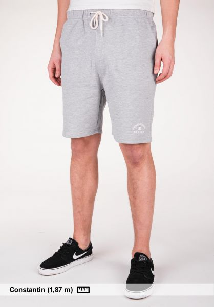 DC Shoes Sweatshorts Rebel heathergrey Vorderansicht