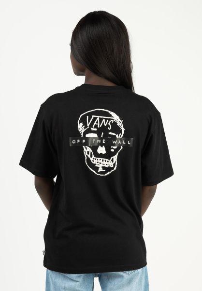 Vans T-Shirts Breana Pocket black vorderansicht 0322930
