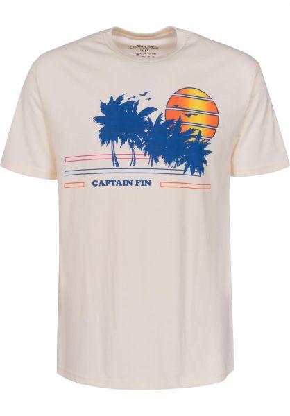 Captain Fin T-Shirts Seaside boneheather Vorderansicht