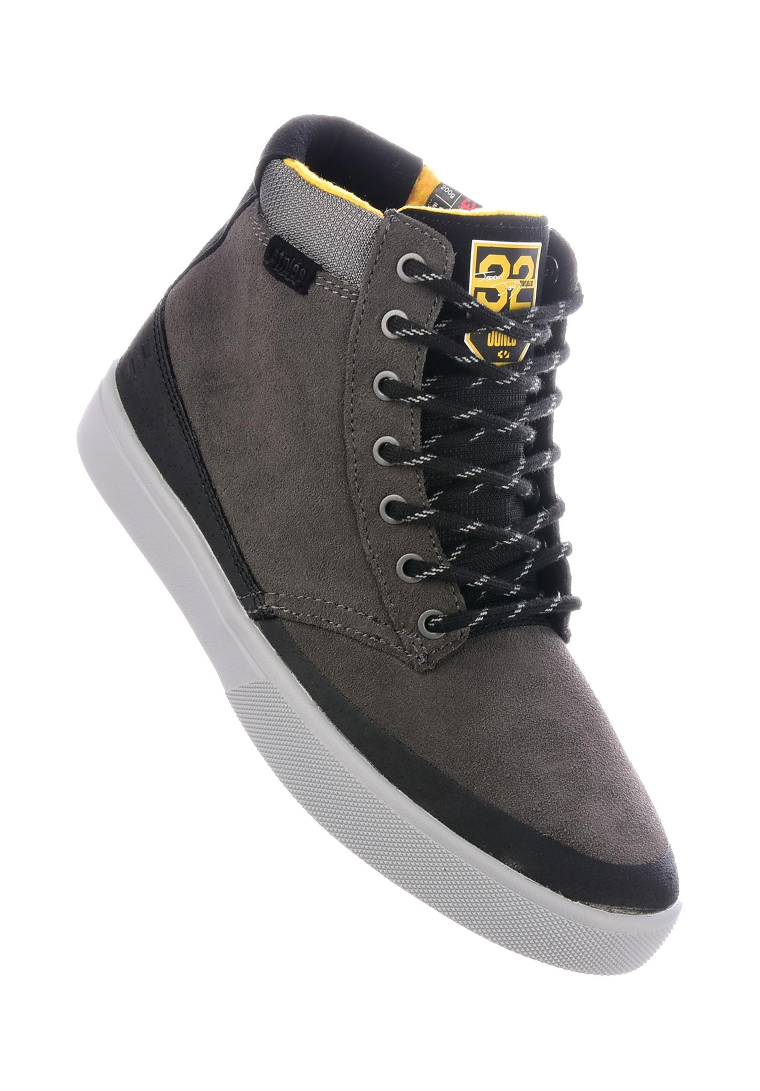 Jameson HTW X 32 etnies All Shoes in grey black yellow for