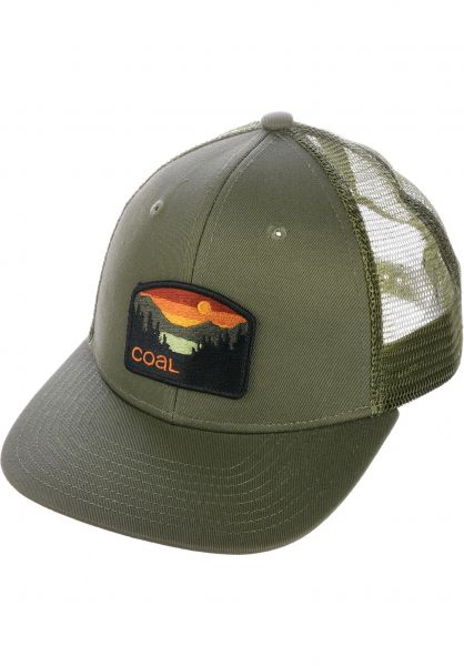 coal Caps The Hauler olive vorderansicht 0566197