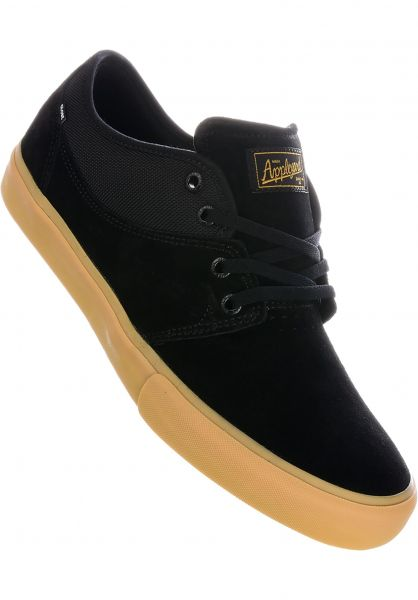 Globe Alle Schuhe Mahalo black-midgum vorderansicht 0603058