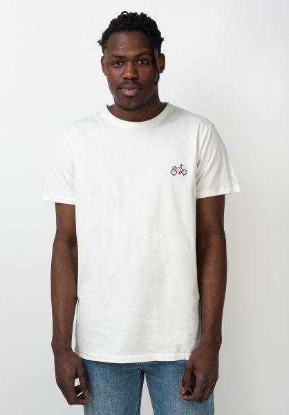 Dedicated T-Shirts Cross Stitch Bike offwhite vorderansicht 0321629