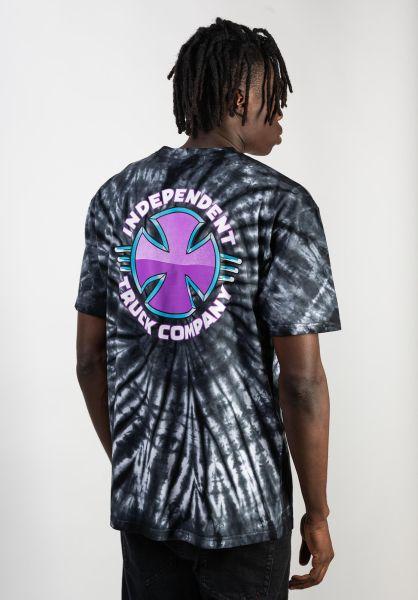 Independent T-Shirts Purple Chrom blackspiderwash vorderansicht 0383268