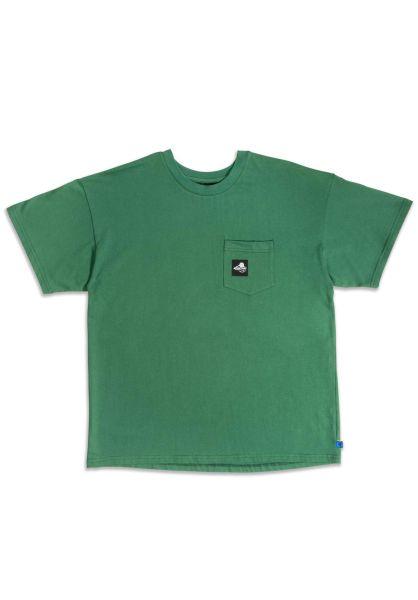 Goodbois T-Shirts Outdoor Sports Oversize Pocket forest vorderansicht 0321646