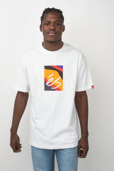 ES T-Shirts Main Block Symbol white vorderansicht 0320685