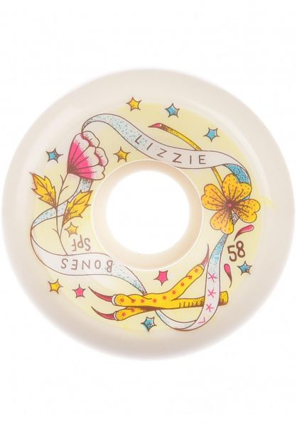 Bones Wheels Rollen SPF Armanto Lucky Charms 84B P5 Sidecut white vorderansicht 0135367