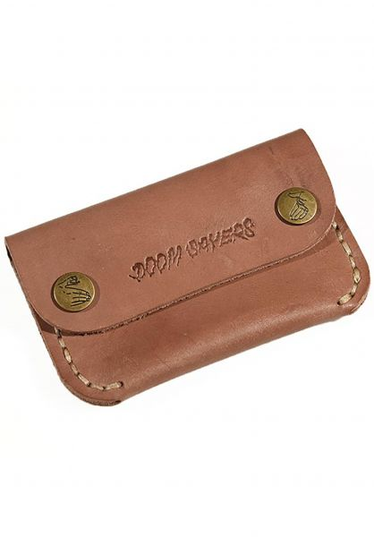 Doomsayers Portemonnaie Corp Guy Leather brown vorderansicht 0781018