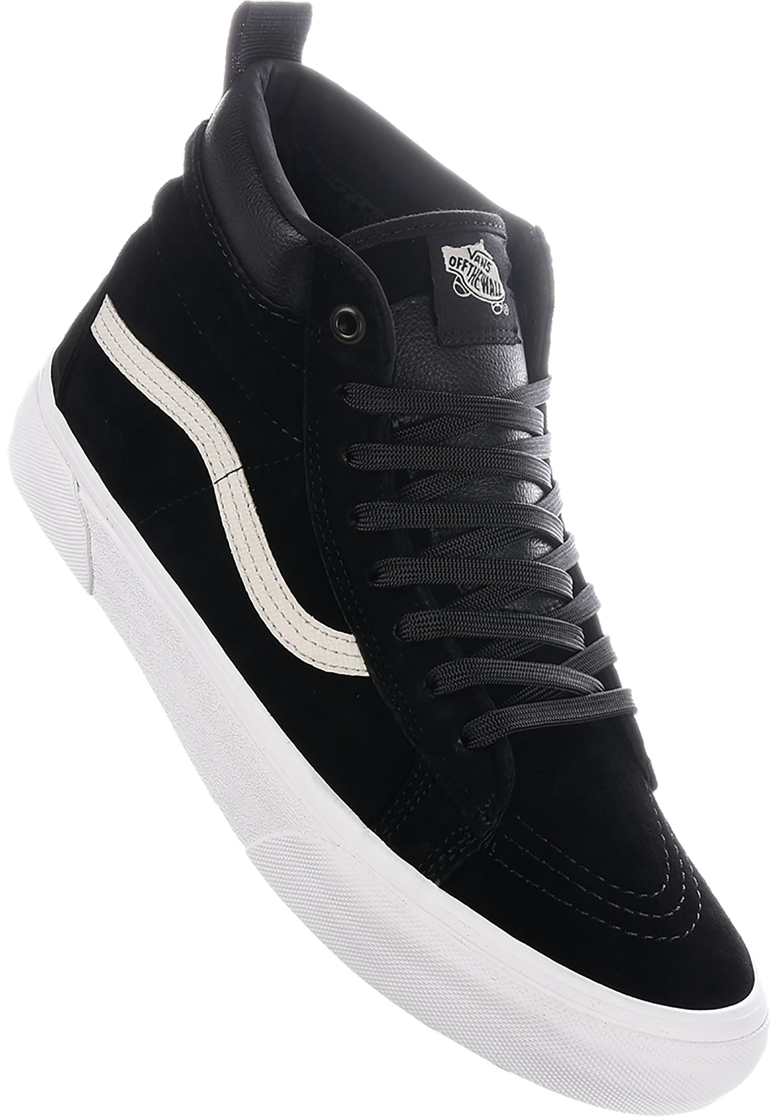 92d4d93e5371bd Sk8 Hi MTE Vans All Shoes in blacknight-truewhite for Men