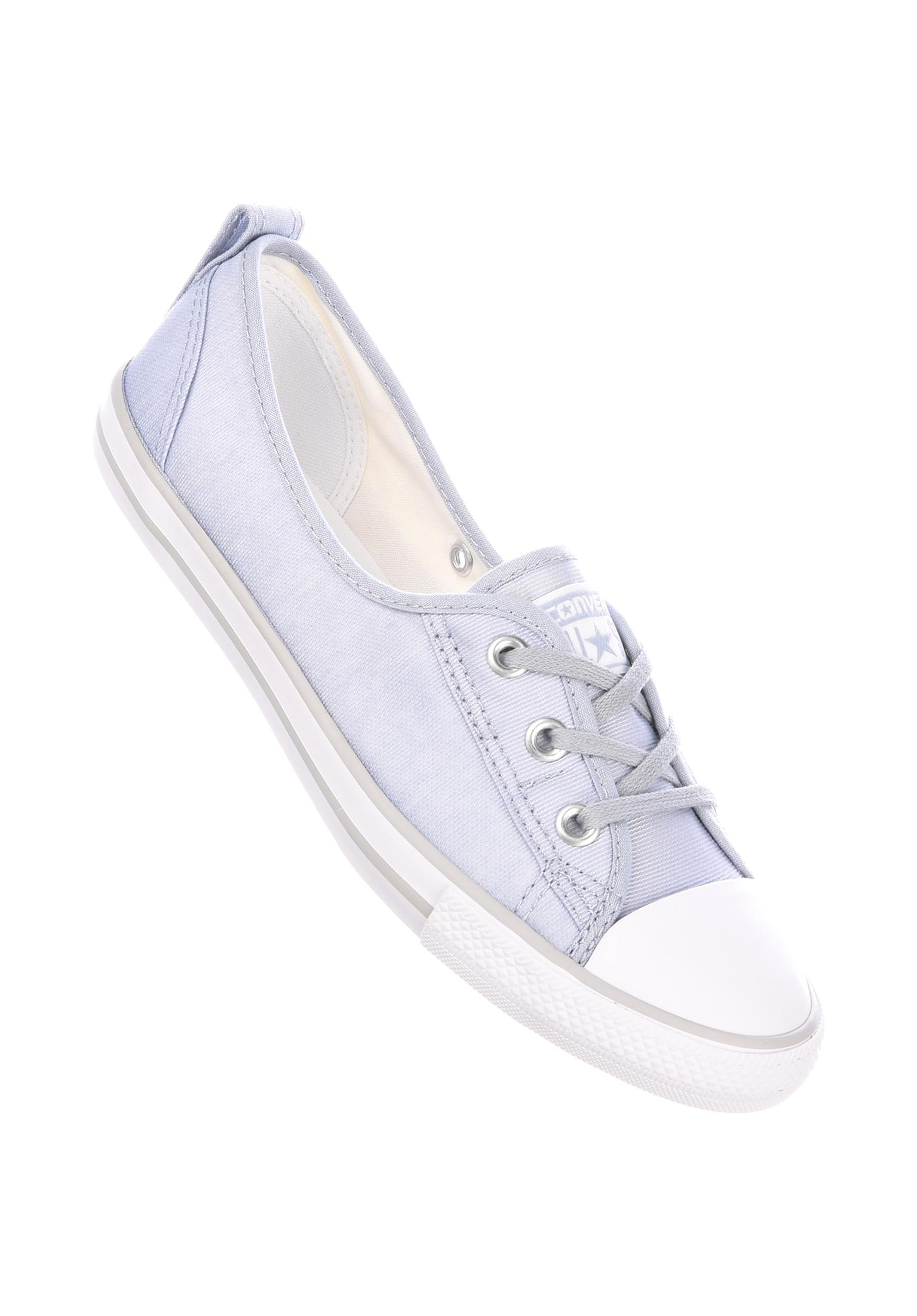 Ballet Lace Converse All Shoes in blue-white-mouse for Women  9299a2ec7
