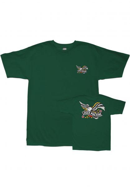 Loser-Machine T-Shirts Glory Bound forestgreen Vorderansicht