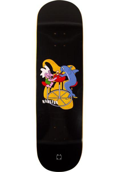 WKND Skateboard Decks Kleppan Troll Toll black vorderansicht 0262969