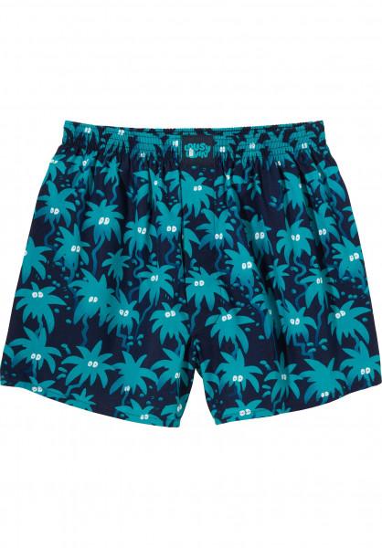 Lousy Livin Unterwäsche Palm navy Vorderansicht