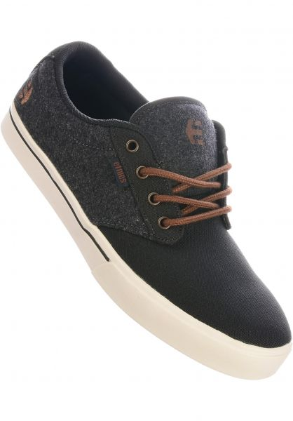 etnies Alle Schuhe Jameson 2 Eco darkgrey-white-gum vorderansicht 0602360