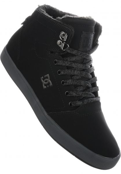 DC Shoes Alle Schuhe Crisis High black-grey Vorderansicht
