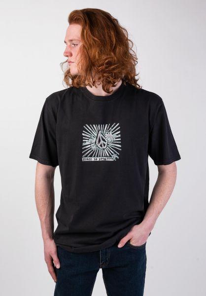 Volcom T-Shirts Prog Star black vorderansicht 0320015