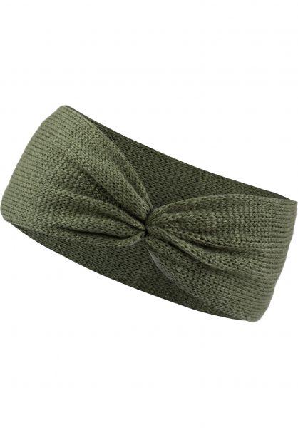 TITUS Mützen Ylvie Headband olive vorderansicht 0572417