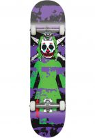 girl-skateboard-komplett-capaldi-clown-pirate-black-purple-vorderansicht-0162363