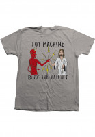 Toy-Machine T-Shirts Bury the Hatchet II silver Vorderansicht