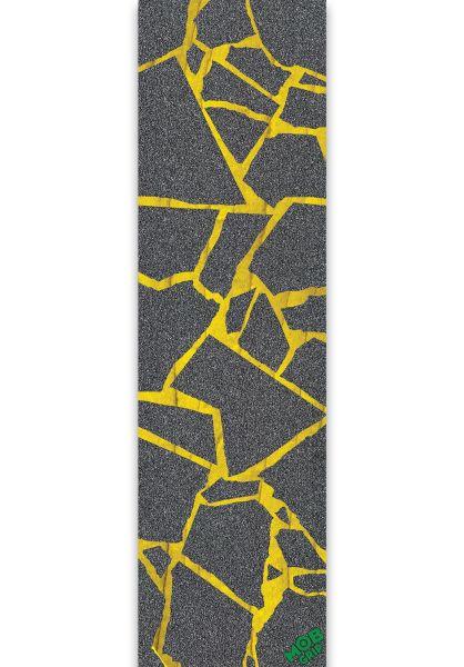 MOB-Griptape Griptape Scraps Grip Tape grey-yellow vorderansicht 0142610