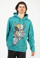 primitive-skateboards-hoodies-x-marvel-wolverine-vintage-oversized-teal-vorderansicht-0446434
