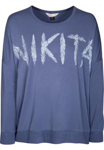 Nikita Sweatshirts und Pullover Evolution SWEAT moonlightblue Vorderansicht