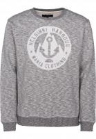 Makia-Sweatshirts-und-Pullover-Harbour-grey-Vorderansicht